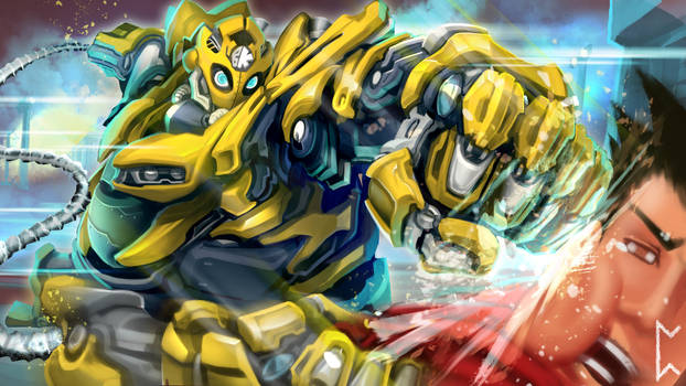 Bumblebee Blitzcrank skin [League of Legends]