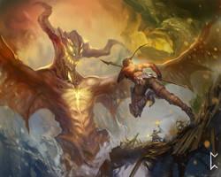 Deadly Encounter by Gevurah-Studios