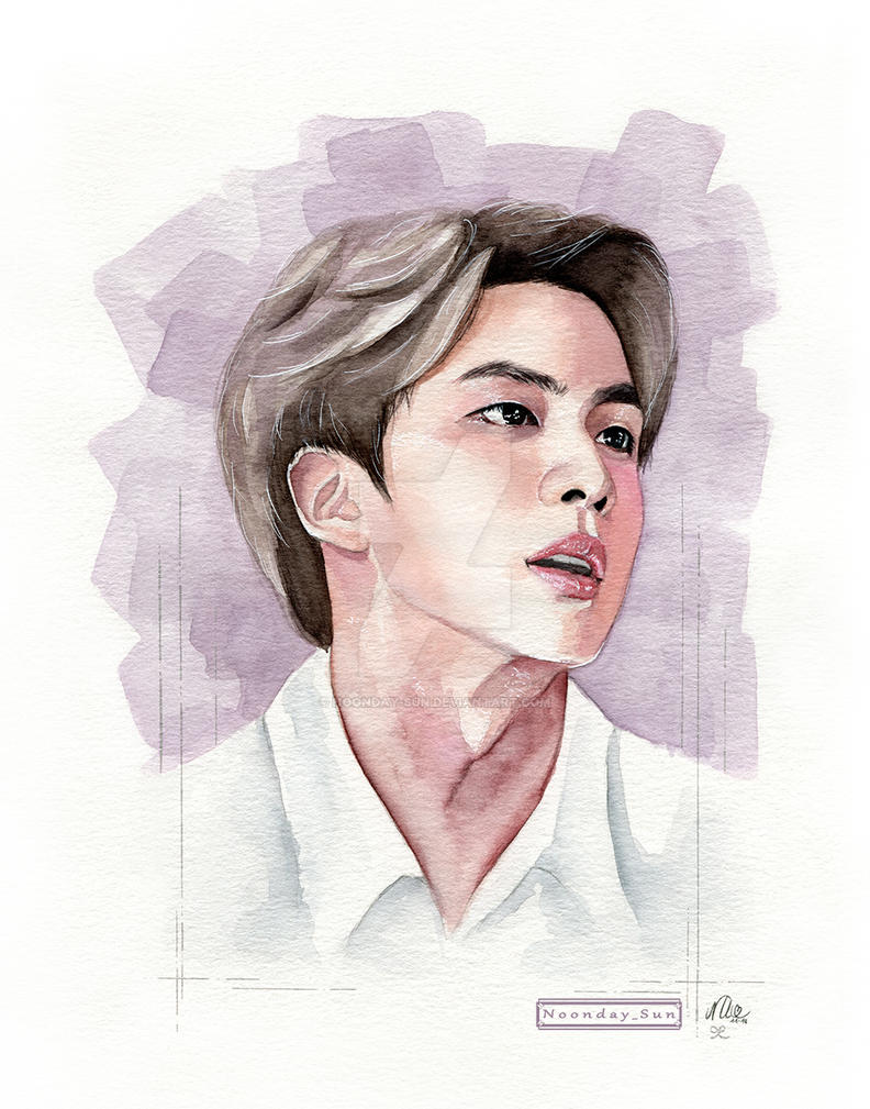Jin Bday 2018 by Noonday-Sun