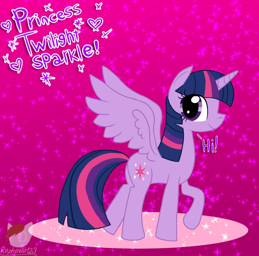 Princess Twilight Sparkle by Raphaela123