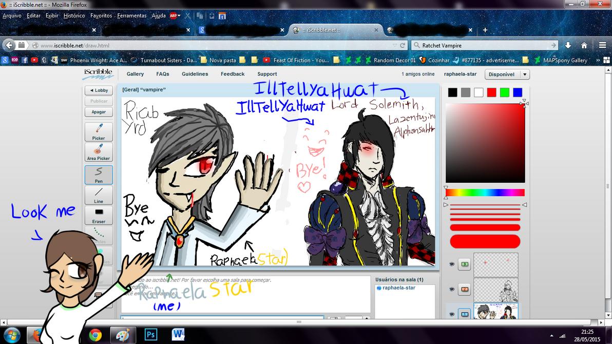iscribble:Vampire by Raphaela123