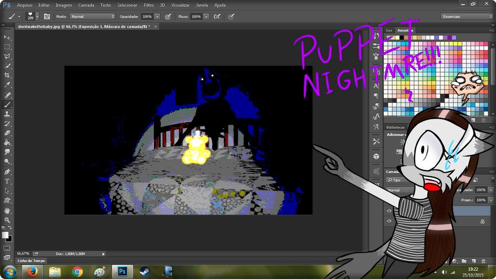 Nightmare Puppet!?!? by Raphaela123