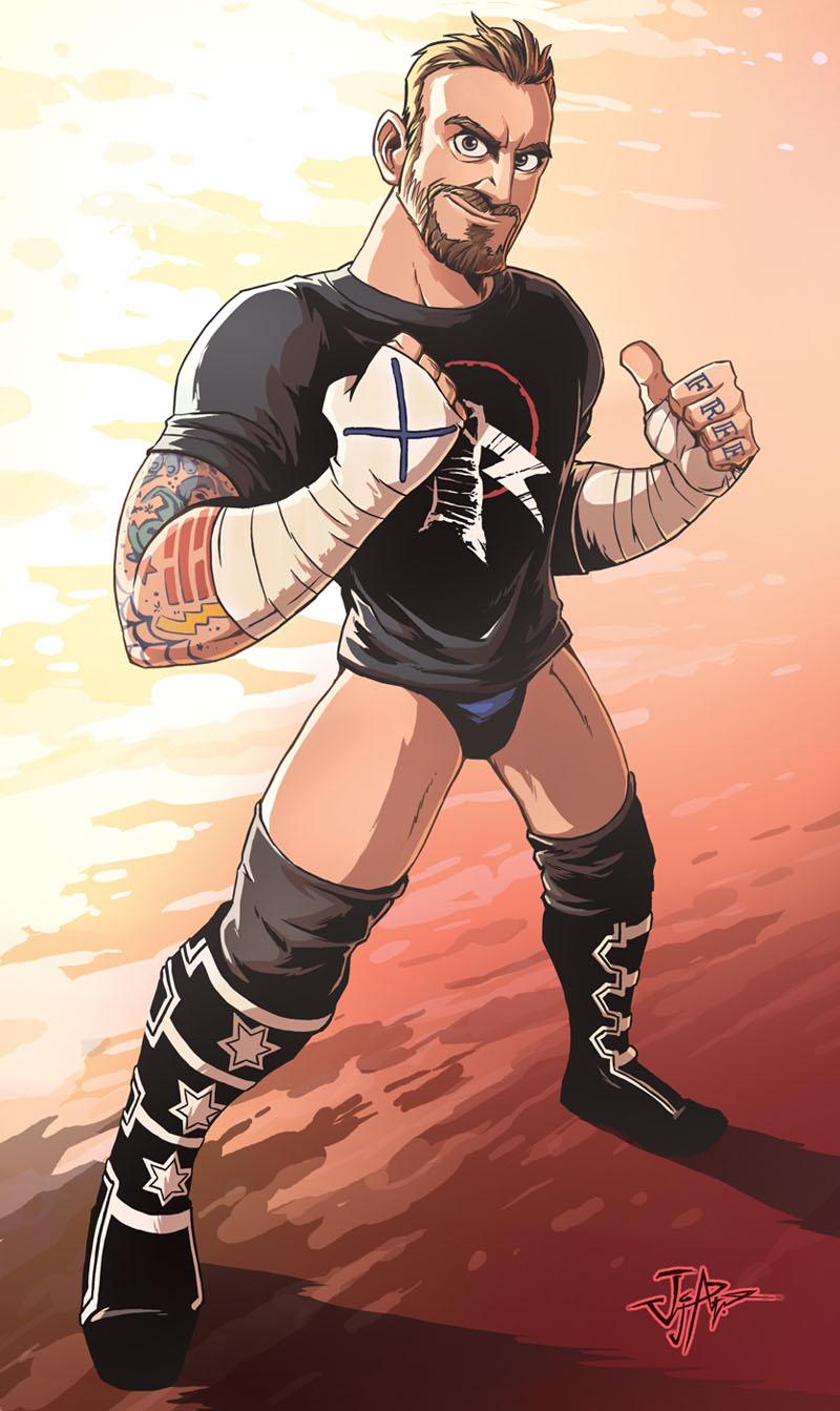 CM Punk by JjAR01