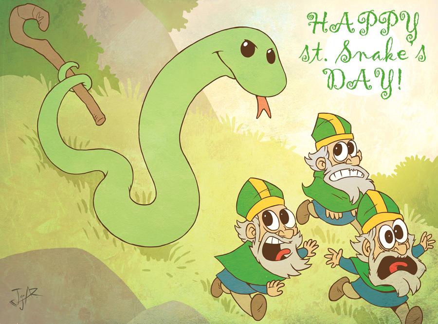 Happy st.Snake's Day! by JjAR01