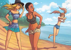 Teenage Nude Ninja Girls: Origins