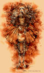 Sepia Girl