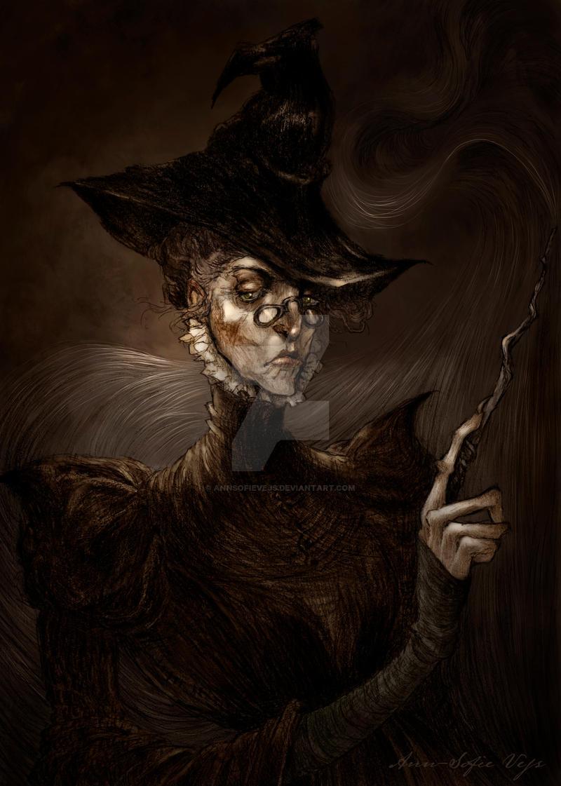 Professor Minerva McGonagall by AnnSofieVejs