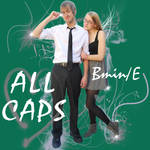ALL CAPS Album Contest Cover by superjokes