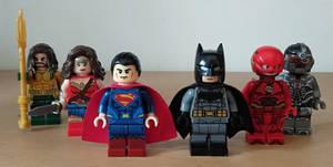 my Lego DCEU Justice League 2