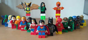my Lego Justice League 7