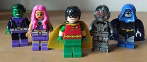 the OG 5 Teen Titans