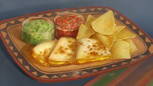 Food - quesadilla