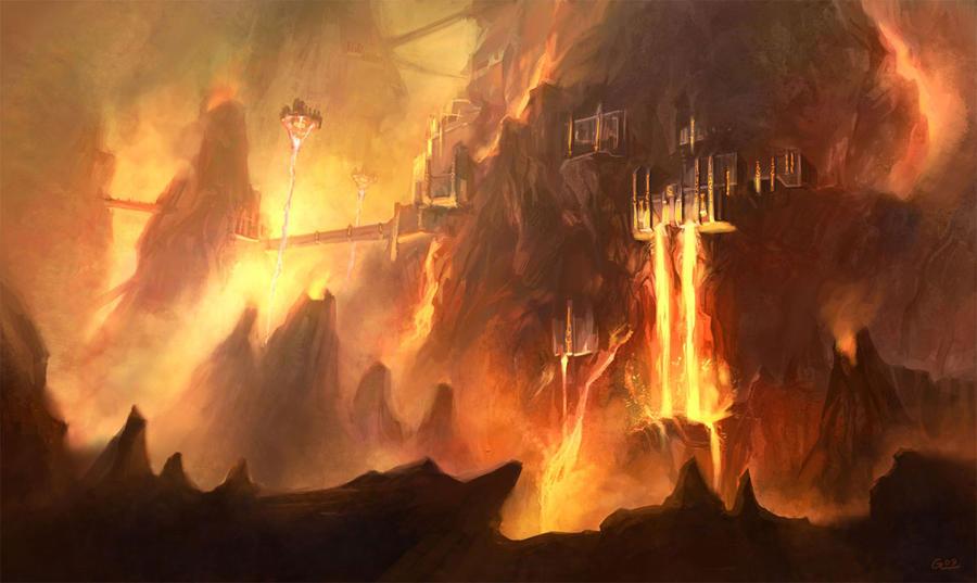 Image of Norse Muspelheim