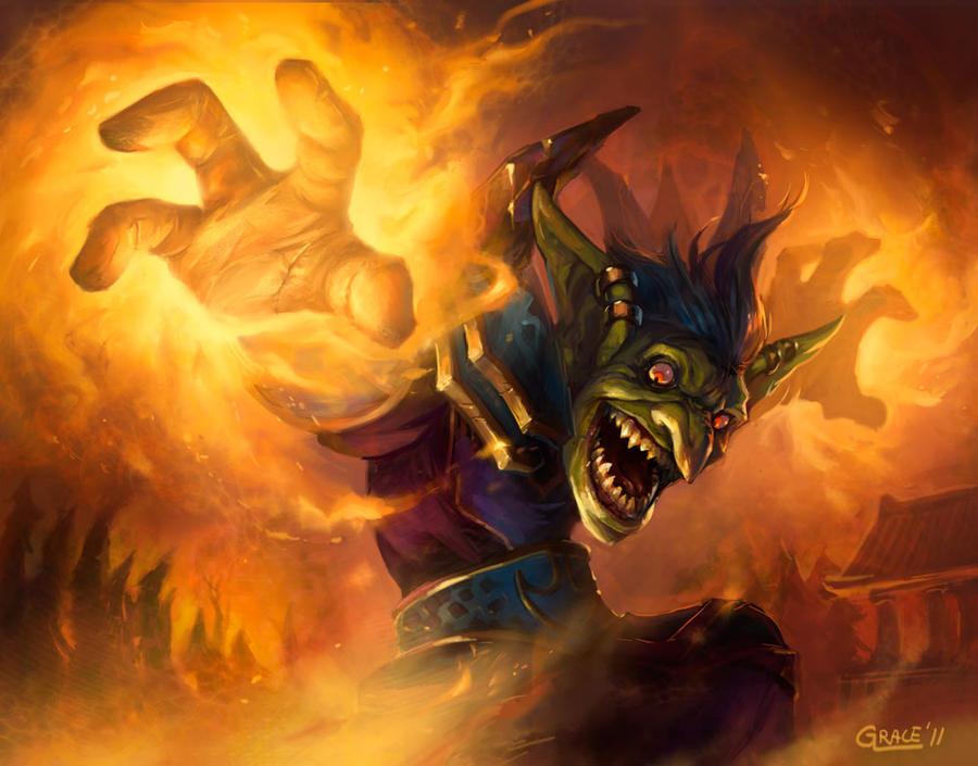 Pyromaniac by Nightblue-art