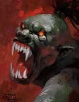Battle Rage by Nightblue-art