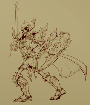 Richard the Skeleton Paladin