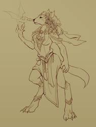 Sasha the Wolven Enchantress