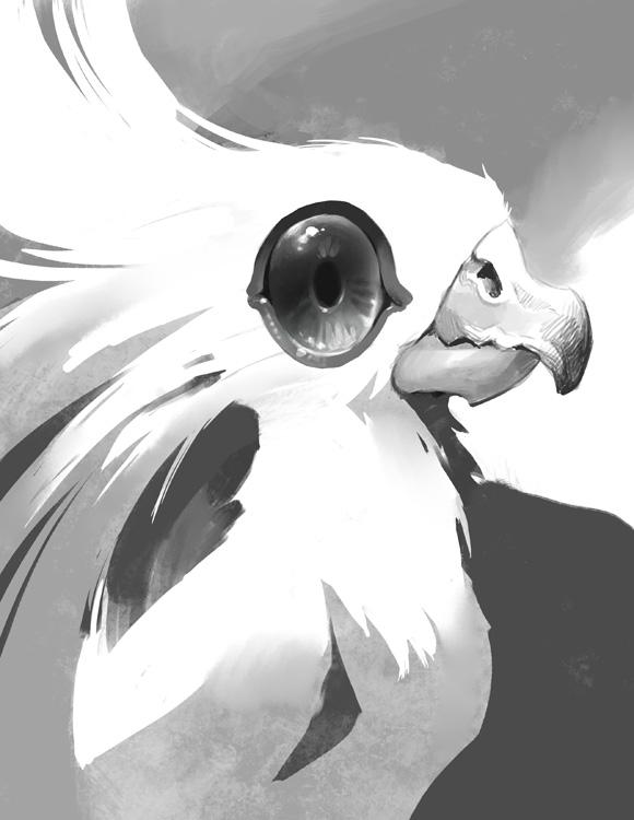 Birdie by Nightblue-art