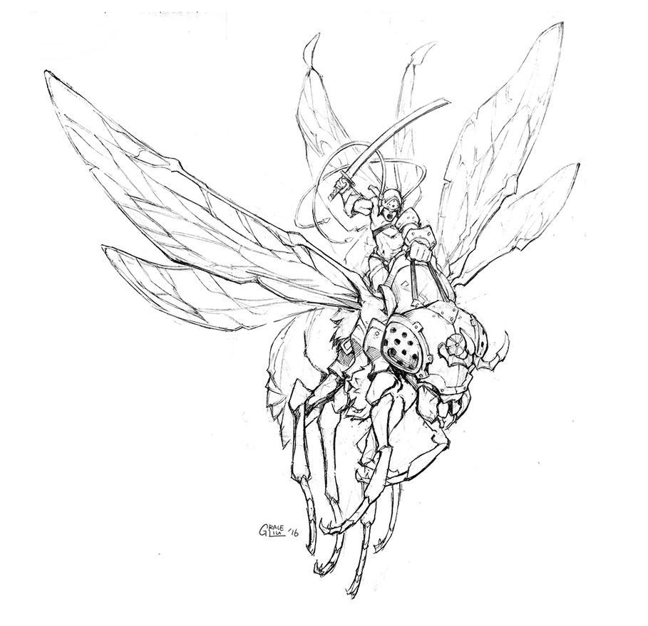 Charging Pixie by Nightblue-art