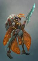 Moth Warrior