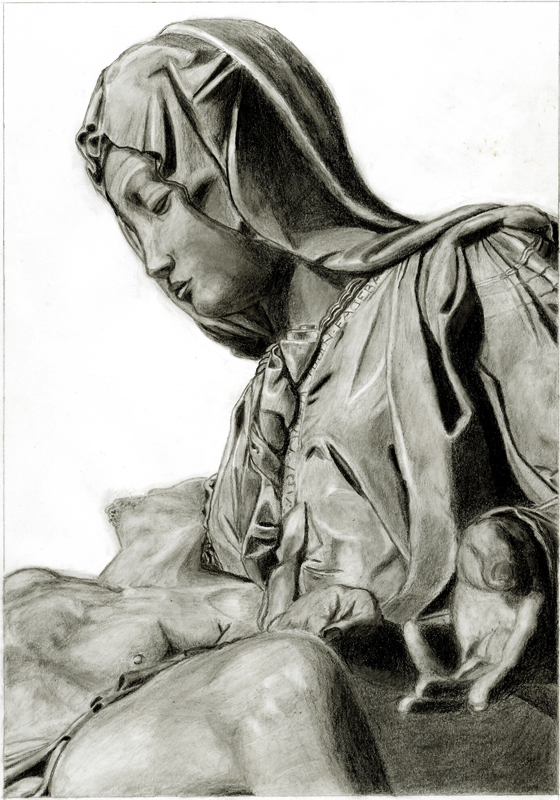 Michelangelo: Pieta II by Kimmuriel-HUN