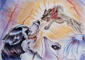 Balto wants to FIGHT BACK! by Oha