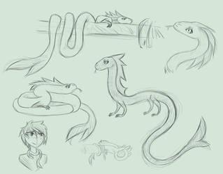 Sketching 10 by Tunamau