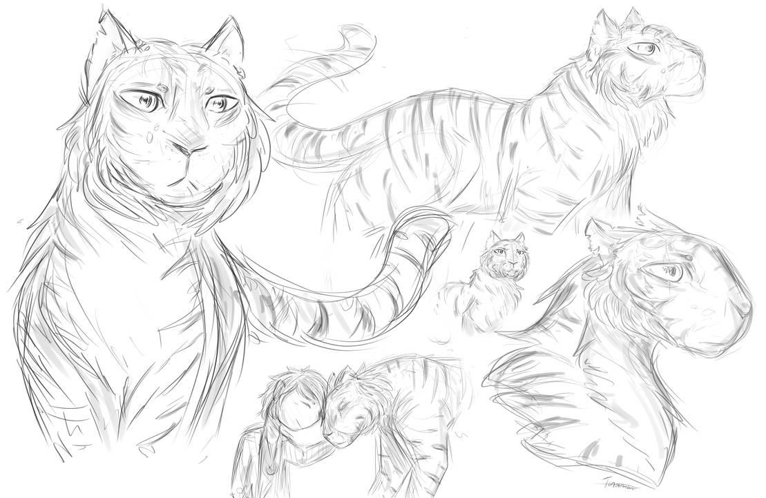 Sketching 11 by Tunamau