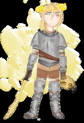 Angel child by Tunamau