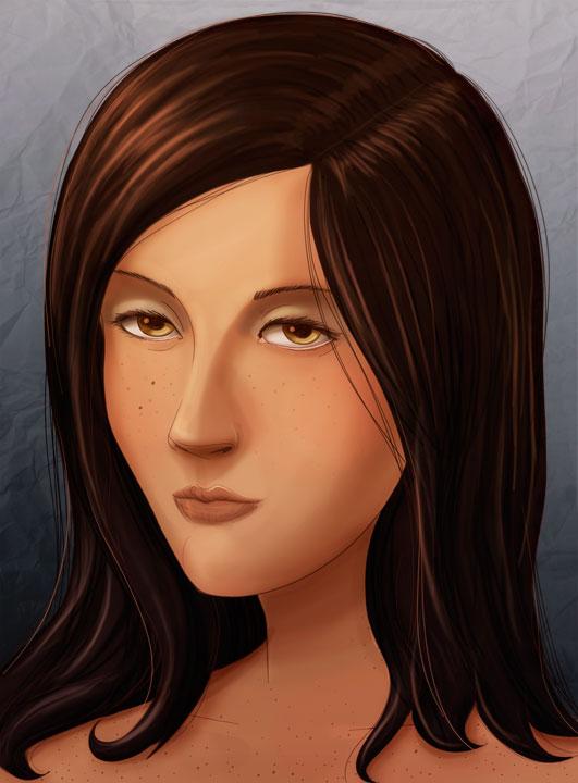 girl face2 by betodbz