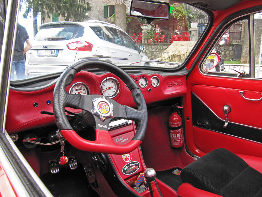 fiat 500 abarth 595 cc int by vforvittoria on deviantart. Black Bedroom Furniture Sets. Home Design Ideas