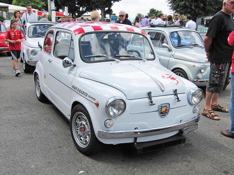 Fiat 600 - Abarth 1000 by vforvittoria on DeviantArt