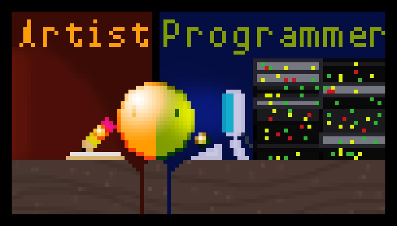 Artist vs. Programmer by orn310