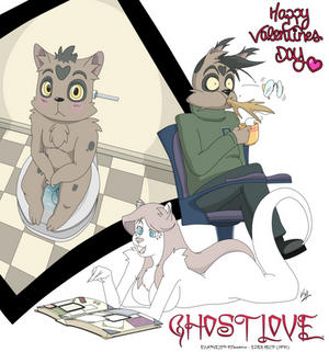 GHOST LOVE - HAPPY VALENTINES DAY