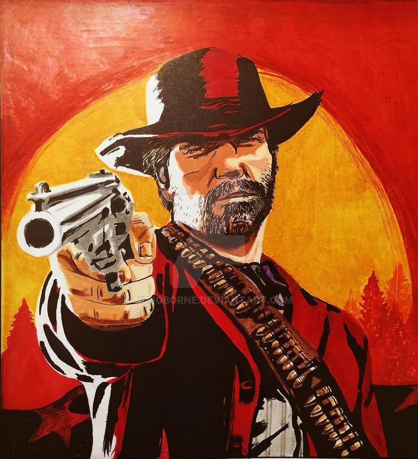 Arthur Morgan Red Dead Redemption 2 By Jojoborne On Deviantart