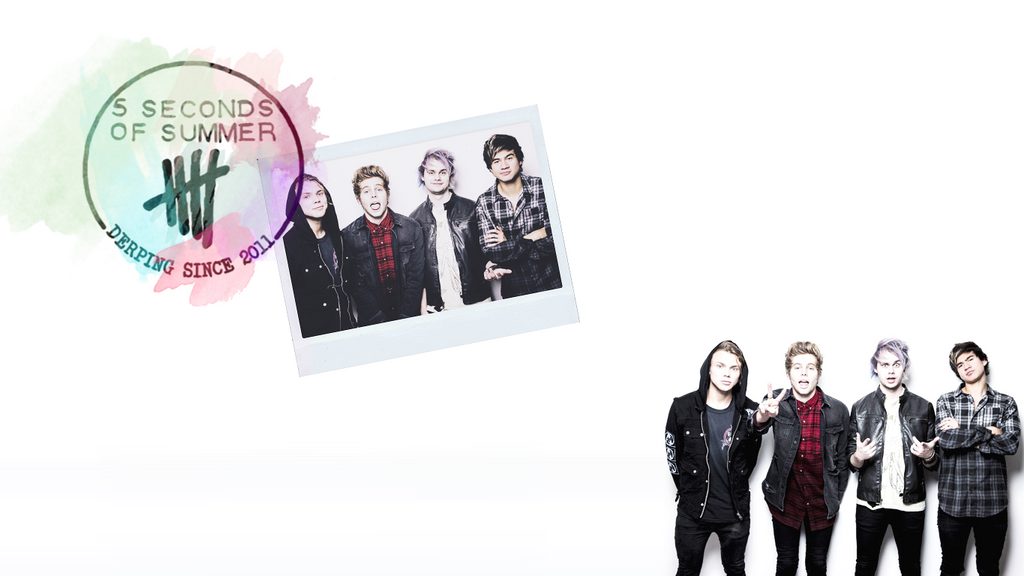 5 Seconds Of Summer Wallpaper 2 By Fckingniam