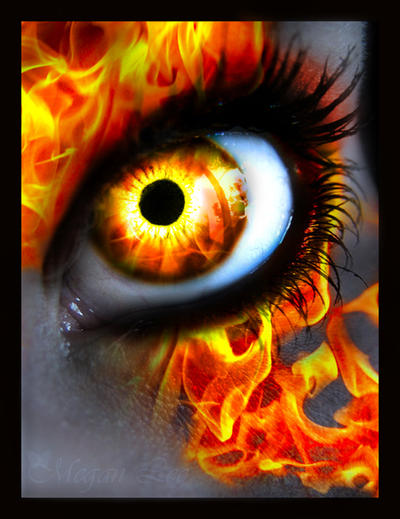 Fire Eye by MEGAN-Yrrbby