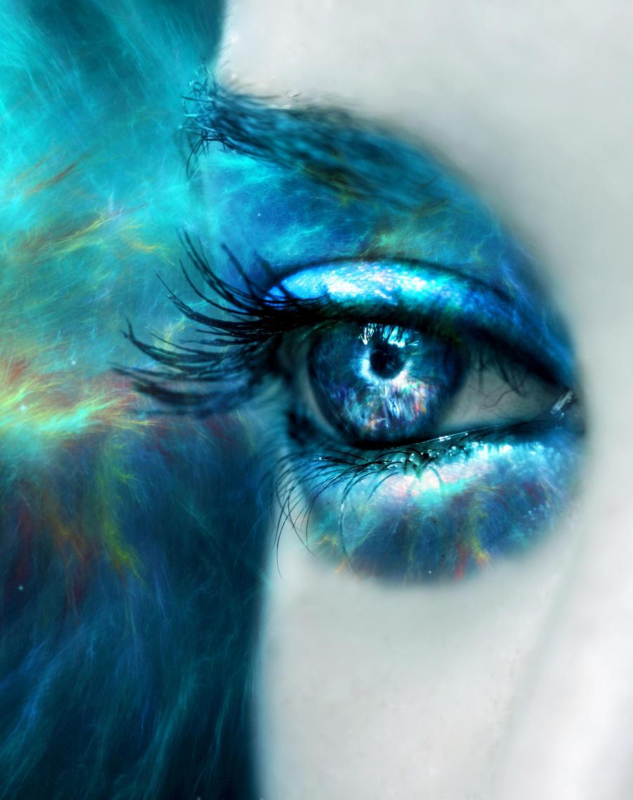 Blue Nebula by MEGAN-Yrrbby