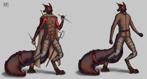 Wolf - Reference sheet.