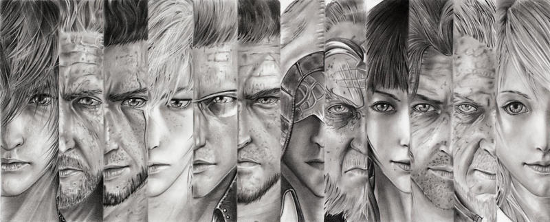 Final Fantasy 15 characters