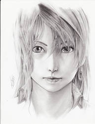 Serene's portrait