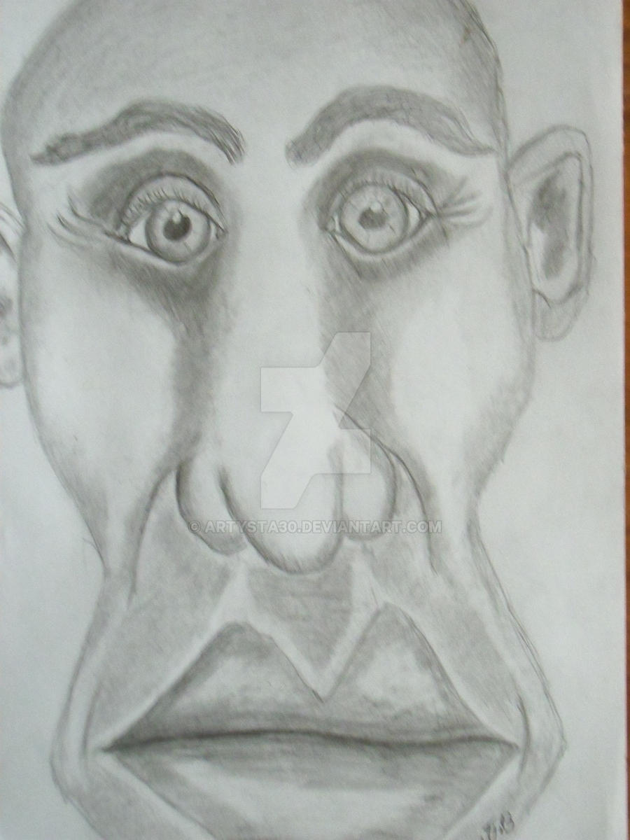 karykatury szkice rysunki portrety akty portrety by artysta30