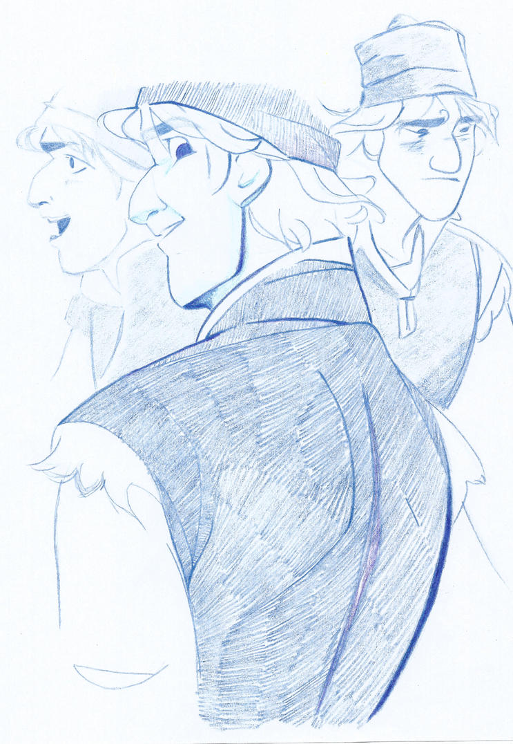 How To Draw Kristoff From Frozen Hand drawn kristoff collationHow To Draw Kristoff From Frozen Easy