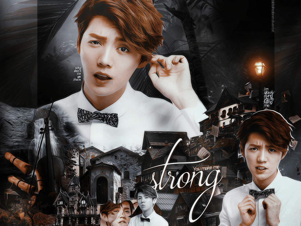 Strong | Luhan Blend by btchdirectioner