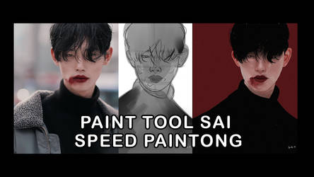 speed painting | paint tool sai