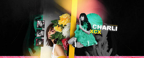 charli xcx facebook cover by btchdirectioner