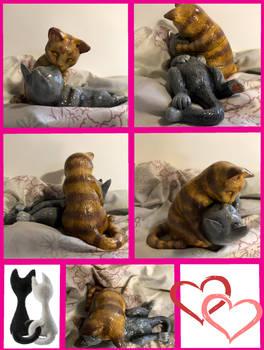 Kissing Kittens!