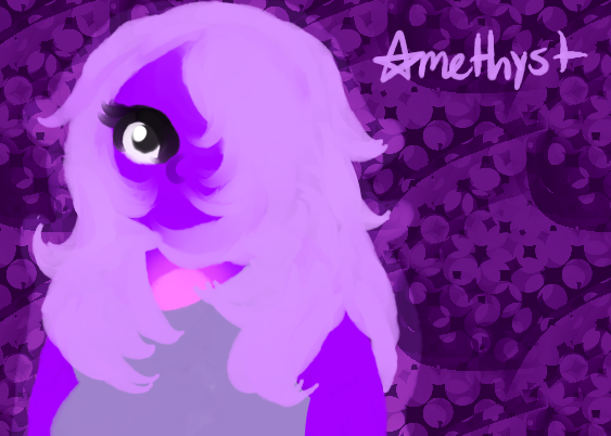 One Eyed One Gemmed Fighting Purple Pizza Eater by WIENIESRULE