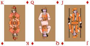 Hetalia Cards - Diamonds