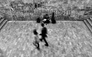 movement on the street by AnilTamerYilmazz
